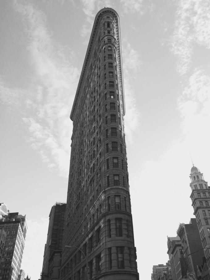 The historic Flatiron Building